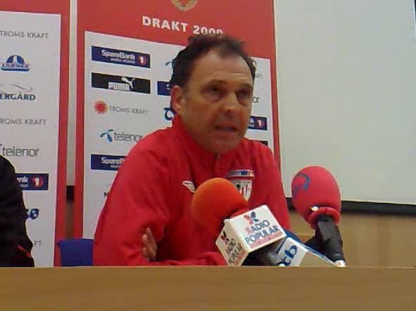 El entrenador del Athletic reitera que los rojiblancos darán lo mejor en Tromso.